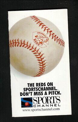 Porter Paints 2007 Cincinnati Reds Baseball Pocket Schedule Schedules Vintage Sports Memorabilia Vintage Sports Memorabilia Sports Mem Cards Fan Shop