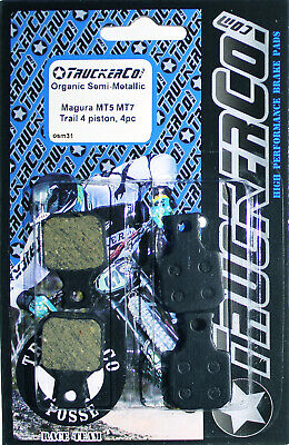 1pr TruckerCo S  Disc Brake Pads Hayes Bengal Helix MB700 PH02 osm14