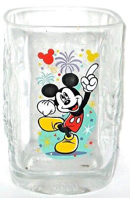 2000 McDonald's Walt Disney World Disney Magic Kingdom Mickey Mouse Glass.