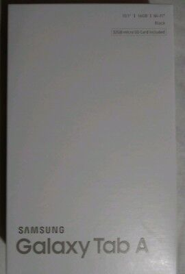 "Samsung galaxy tab A 10.1"" 16 GB + bonus 32GB micro SD card . Black. SM-T580. for sale  Shipping to India"