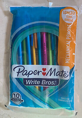 Paper Mate Mechanical Pencils Pack Of 10 Assorted Colors Free Shipping
