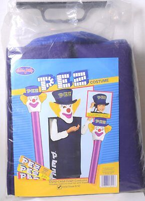 PEZ HALLOWEEN COSTUME, PETER PEZ, CHILD SIZE 5-10, FREE SHIPPING
