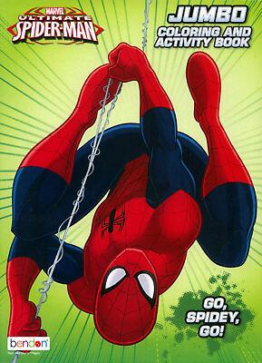 Spiderman coloring book RARE UNUSED](Spiderman Coloring Book)