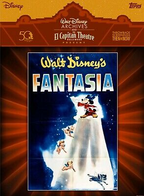 Topps Disney Collect El Capitan Theatre Fantasia Movie Poster Digital Card