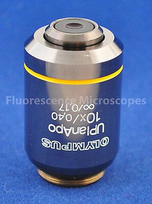 Olympus Uplanapo 10x 0.40 Infinity0.17 Microscope Objective