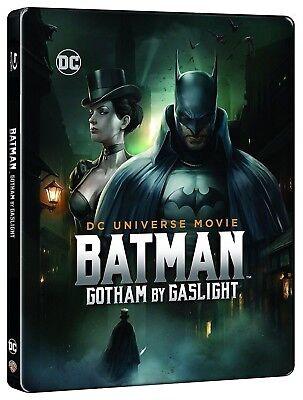 Batman Gotham By Gaslight (Blu-ray/DVD, 2017, Steelbook) SMALL DENT ON FRONT