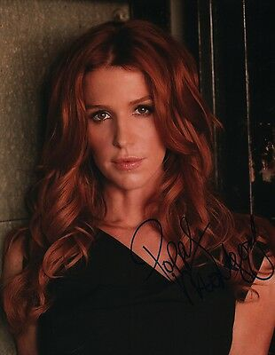 Poppy Montgomery Signed 11X14 Photo