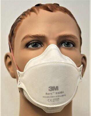 10 x Atemschutzmaske 3M™ Aura™ FFP3 9330+ FFP3 Feinstaubmaske Mundschutz Maske