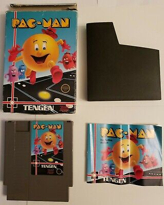 Pac Man (Nintendo NES) Complete in Box VERY GOOD USED