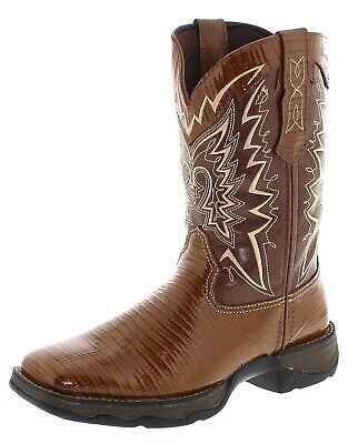 Durango Boots Stiefel SNAKE OIL RD030 Brown Westernreitstiefel Work Boots Snake Boots