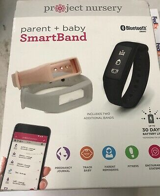 Parent & Baby Smartband Monitor Project Nursery PNB10 3 bands Bluetooth