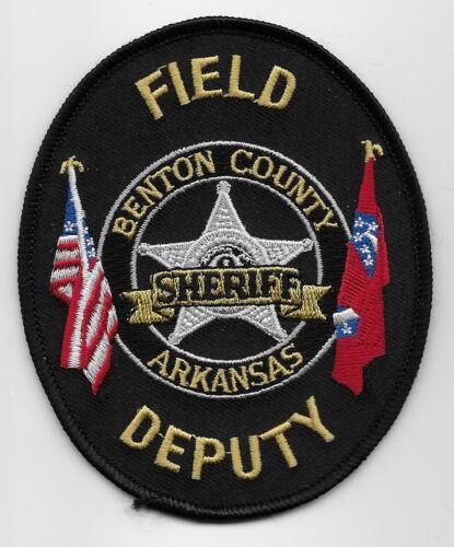 Field Deputy Benton County Sheriff State Arkansas AR