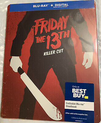 Halloween 2019 Friday 13 (Friday the 13th (2009): Killer Cut Blu-ray/Digital Best Buy Exclusive)