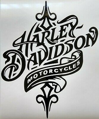 Vinyl Decal Harley Davidson sticker car window bumper motorcycle wall Harley Motorcycle Decals