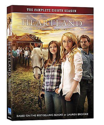 HEARTLAND: THE COMPLETE EIGHTH SEASON 8  (DVD, 2015, 5- Disc Set) NEW