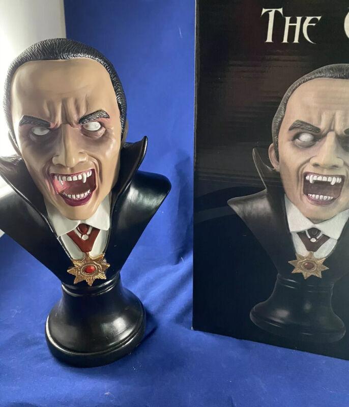 Count Dracula  Statue Halloween Collectibles Vampire Figurine