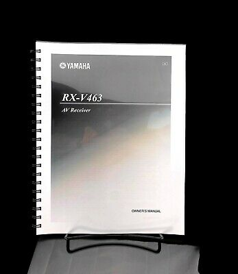 Yamaha RX-V463 AV Receiver Manual Instructions User Guide Reprint for sale  Shipping to India