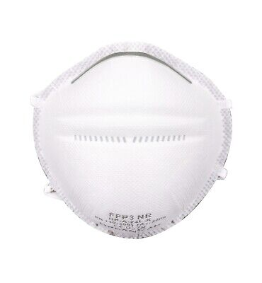 6x FFP3 NR Atemschutzmaske Schutz Maske ohne Ventil | CE 0370 überall einsetzbar