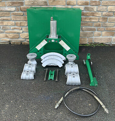 Greenlee 777 Hydraulic Bender 1-14-4 Rigid W 755 Hand Pump 3