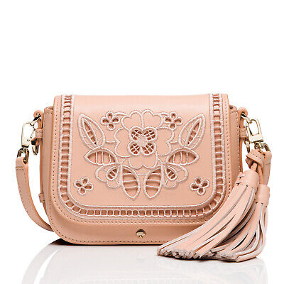 KATE SPADE Madison Avenue Collection Embroidered Woodcrest Lane Small Pree NWT