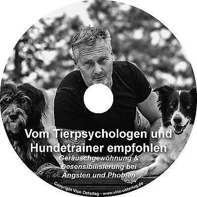 Geräusche CD vom Tierpsychologen Vico Ostertag für Hunde und Katzen