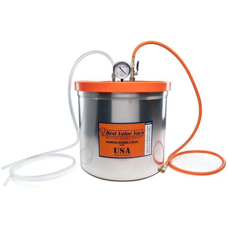 Best Value Vacs 5 Gallon Resin Trap Vacuum Chamber