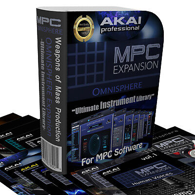 Akai MPC Expansion Omnisphere 2: Immediate delivery - 76 Expansions!!