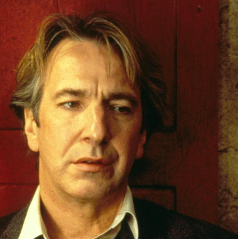 Alan Rickman Look Of Surprise 8x10 Photo Print