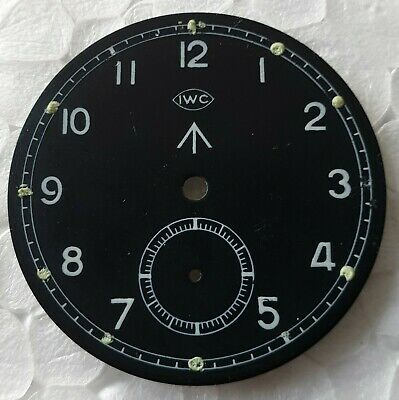 Genuine IWC Mark X 10  Dirty Dozen British Military Watch Cal 83 MoD Dial