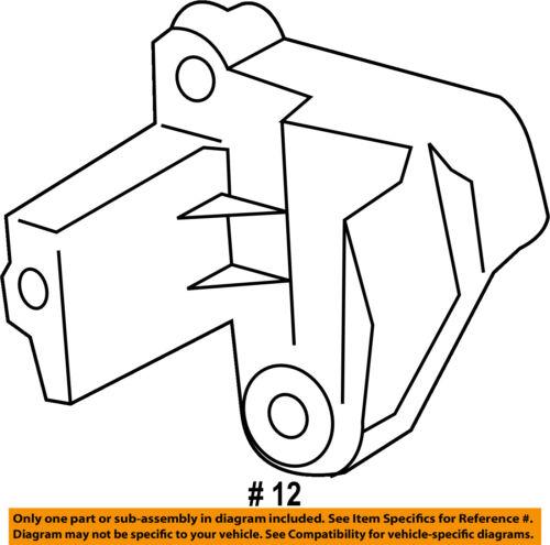 Ford Oem 13 16 Escape Engine Crankshaft Crank Position Sensor Cps