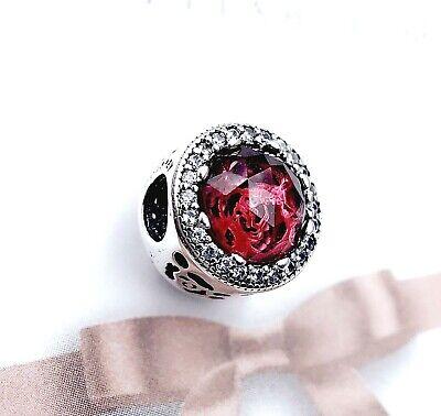 Authentic Pandora Silver 925 Disney Belle's Radiant Rose Charm 792140