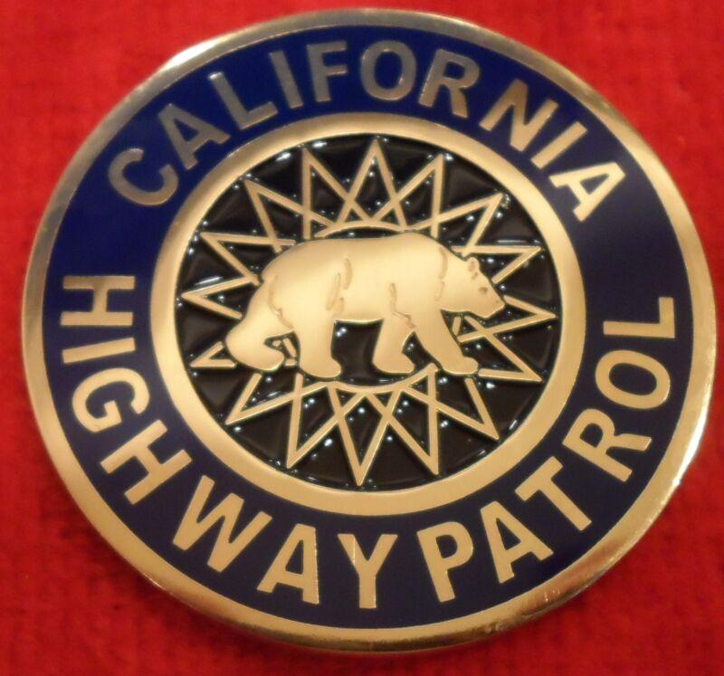 CALIFORNIA HIGHWAY ORIGINAL DMV COIN (CHP LAPD FBI