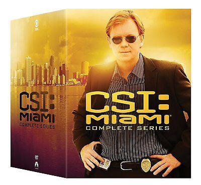 Csi Miami Complete Series Season 1 10 1 2 3 4 5 6 7 8 9 10   New 65 Disc Dvd Set