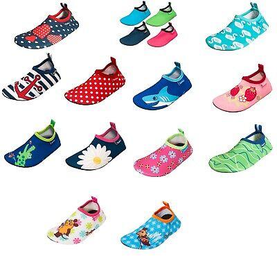 Playshoes 1749-1 Kinder Barfuß Schuhe m.UV Schutz Badeschuhe Gr. 18 - 29
