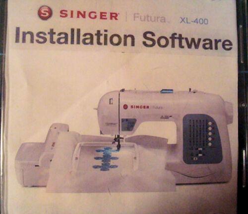 INSTALLATION SOFTWARE FOR SINGER  XL 400 420 ,550, 580,SEQS 6000,6700,QUINTET