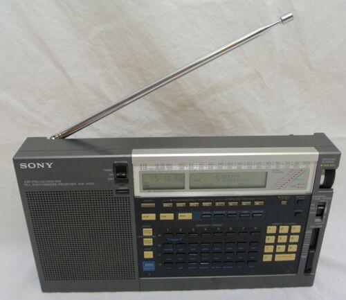 Sony ICF-2010 Short Wave Radio PLL Synthesized Tuning 150-29999.9kHz SSB AM/FM
