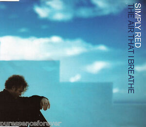 Simply Red The Air That I Breathe Uk 3 Tk Cd Single Pt