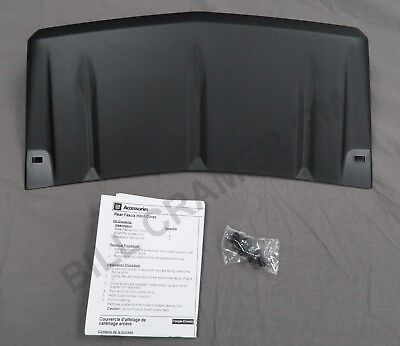 - 2010-2016 Cadillac SRX OEM Trailer Hitch Cover Textured Black NEW 19172271