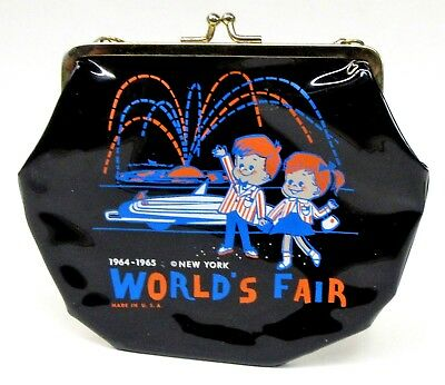 scarce 1964-1965 New York Worlds Fair PURSE
