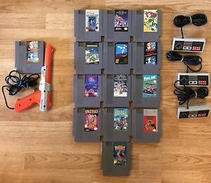 NES Games & Controllers