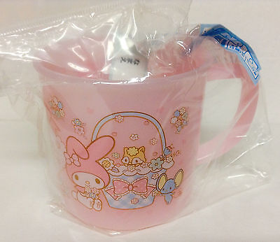 Sanrio My Melody Mini Pink Plastic Cup From Japan kawaii