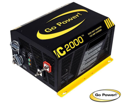 GO Power GP-IC-2000-12 2000W Inverter, Charger and Automatic Transfer Switch