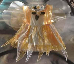 Costume: Saffron - Yellow Fairy - Size 3 -4 yr NEW Greenwood Joondalup Area Preview