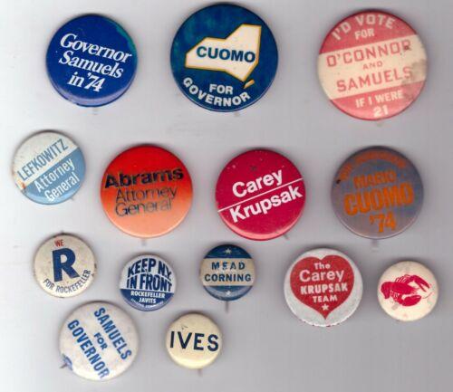 Lot of 1 New York Governor 1942-1982 IVES MEAD CUOMO CAREY O