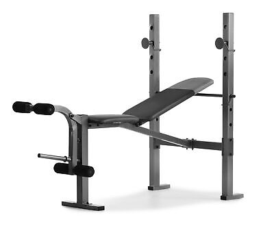 Adjustable Weight Bench Workout Incline Home Exercise Lifting Fitness Flat Press