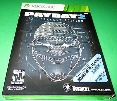 Payday 2    Safecracker Edition Microsoft Xbox 360  New Sealed Free Shipping