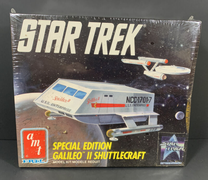 Star Trek TOS Special Edition Galileo 2 Shuttlecraft Model Kit by Amt Ertl #6006