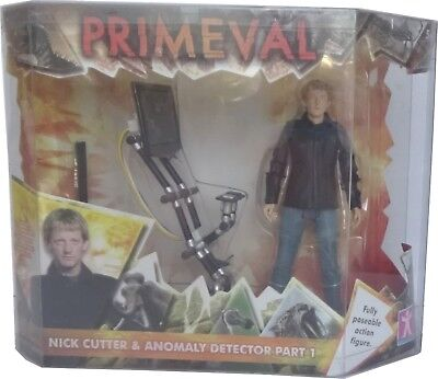 Primeval Nick Cutter & Anomaly Detector Part 1 Fully Poseable Action Figure NEW