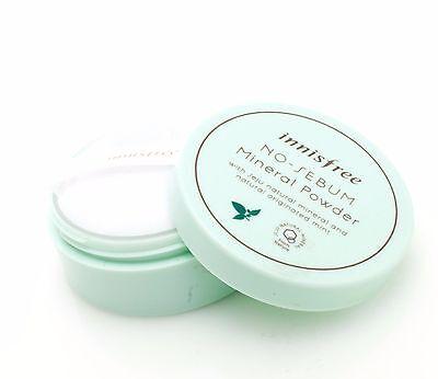 [Innisfree] No Sebum Mineral Powder 5g for Oily Skin / Korean cosmetics