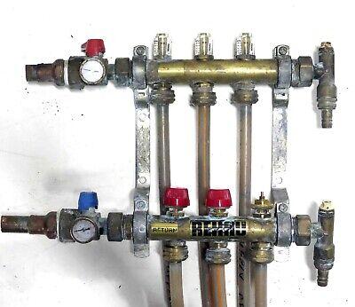 Rehau Radiant Floor Heat Pex Pipe Manifold Wirsbo Zurn Shark Bite Watts Boiler